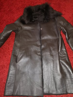 ARMA Winterjack zwart-donkerbruin