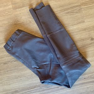 Arma Collection Leggings grey brown-taupe leather
