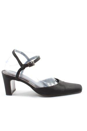 Armando Pollini Hoge hakken sandalen zwart zakelijke stijl