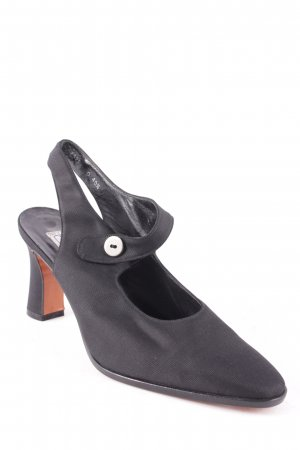 Armando Pollini Pumps schwarz klassischer Stil