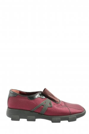 Armando Pollini Slip-on Shoes red-black casual look