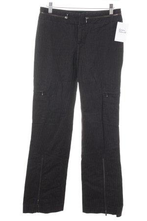 Armani Anzughose schwarz-weiß Business-Look