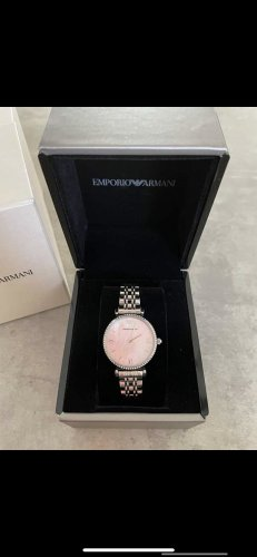 Armani Analog Watch silver-colored