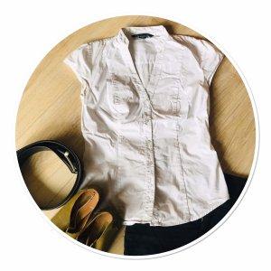 Armani Exchange Blouse à manches courtes blanc