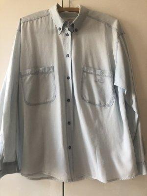 Armani Jeans blouse azuur