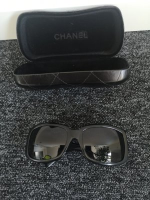 Armani Angular Shaped Sunglasses black-silver-colored