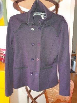 Armani Jeans Pea Jacket dark blue wool