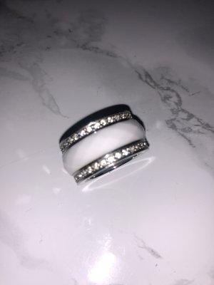 Armani Anello di fidanzamento bianco-argento