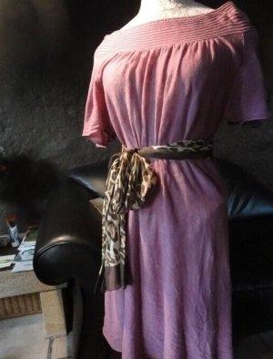 Armani Exchange Robe épaules nues multicolore