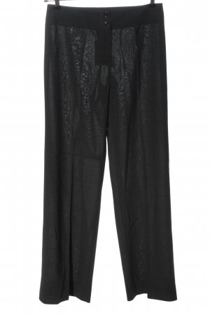 Armani Collezioni Pantalon zwart klassieke stijl