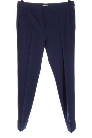Armani Collezioni Pantalon de costume bleu style d'affaires