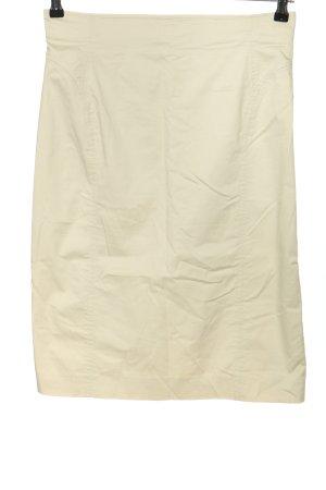 Armani Collezioni Ołówkowa spódnica w kolorze białej wełny W stylu casual