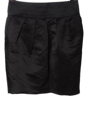 Armani Collezioni Kokerrok zwart zakelijke stijl