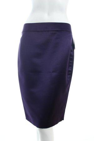 Armani Collezioni Jupe crayon violet foncé élégant