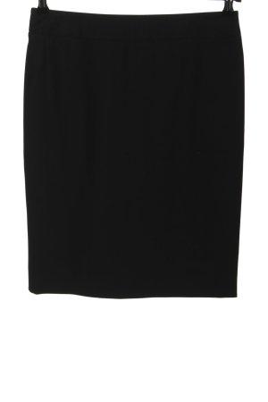 Armani Collezioni Jupe crayon noir style décontracté