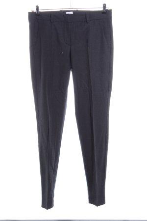 Armani Collezioni Pantalon à pinces noir style d'affaires