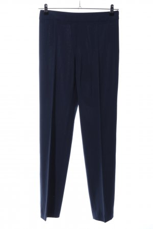 Armani Collezioni Pleated Trousers blue casual look
