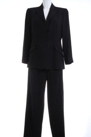 Armani Collezioni Costume business noir style d'affaires