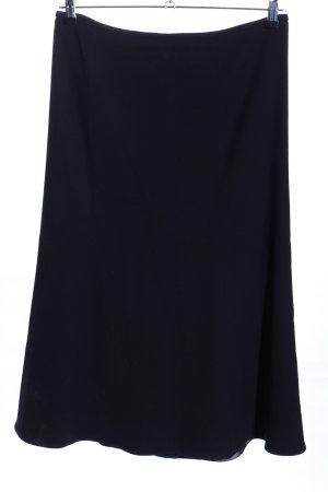 Armani Collezioni Jupe évasée noir style décontracté