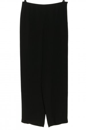 Armani Collezioni High Waist Trousers black casual look