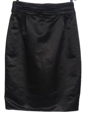Armani Collezioni Rok met hoge taille zwart casual uitstraling