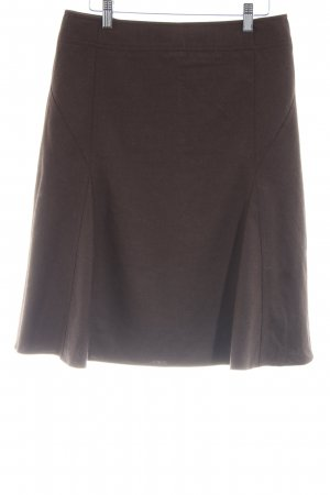 Armani Collezioni High Waist Skirt brown casual look