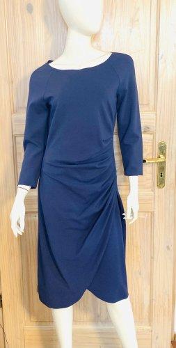 Armani Collezioni Robe à manches longues bleu acier