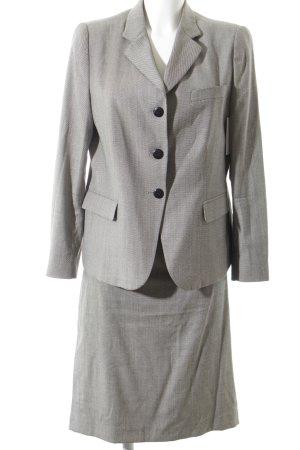 Armani Collezioni Kostüm schwarz-weiß grafisches Muster Business-Look
