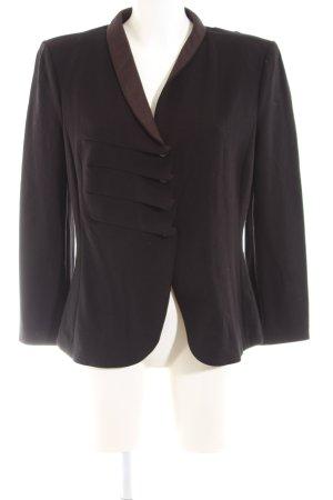 Armani Collezioni Korte blazer bruin zakelijke stijl