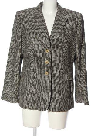 Armani Collezioni Blazer court gris clair-noir style d'affaires