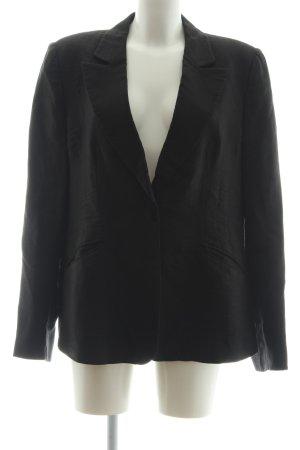 Armani Collezioni Korte blazer zwart zakelijke stijl