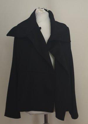Armani Collezioni Manteau oversized noir