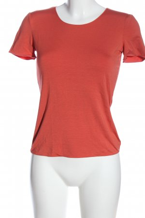 Armani Collezioni Short Sleeved Blouse red casual look