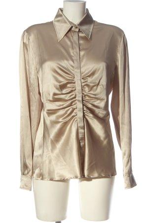 Armani Collezioni Shirt met lange mouwen room zakelijke stijl