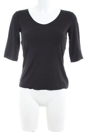 Armani Collezioni Longesleeve zwart zakelijke stijl