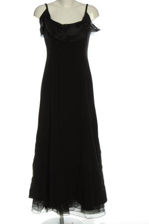 Armani Collezioni Maxikleid schwarz Elegant