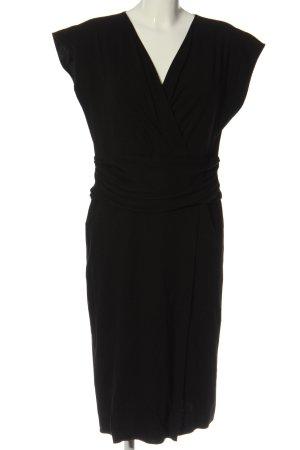 Armani Collezioni Robe mi-longue noir style d'affaires