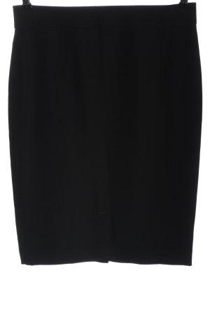 Armani Collezioni Mini rok zwart casual uitstraling