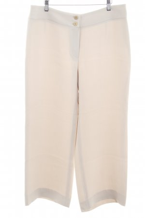 Armani Collezioni Pantalon palazzo beige clair style extravagant