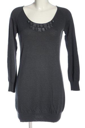 Armani Collezioni Swetrowa sukienka czarny W stylu casual