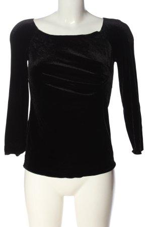 Armani Collezioni Slip-over blouse zwart casual uitstraling