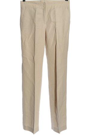 Armani Collezioni Pantalon en jersey blanc cassé style décontracté