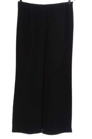 Armani Collezioni Pantalon en jersey noir style décontracté