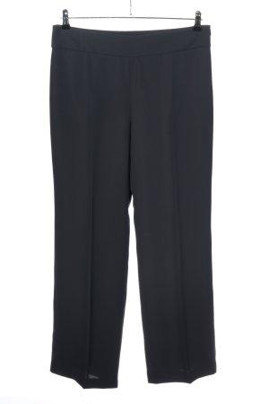 Armani Collezioni Spodnie materiałowe czarny W stylu biznesowym