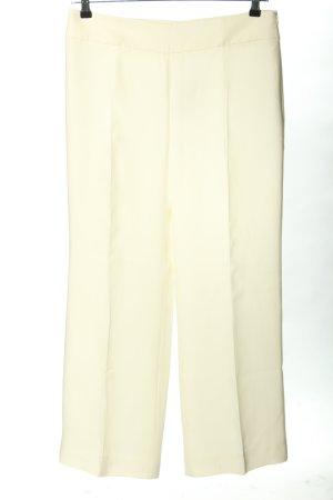 Armani Collezioni Pantalon en jersey blanc cassé style d'affaires