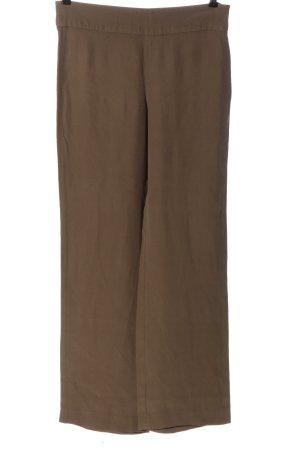 Armani Collezioni Pantalon en jersey brun style d'affaires