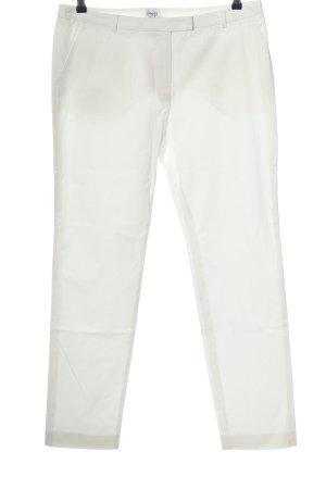 Armani Collezioni Spodnie materiałowe biały W stylu casual