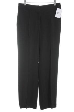 Armani Collezioni Pantalon en jersey noir style d'affaires