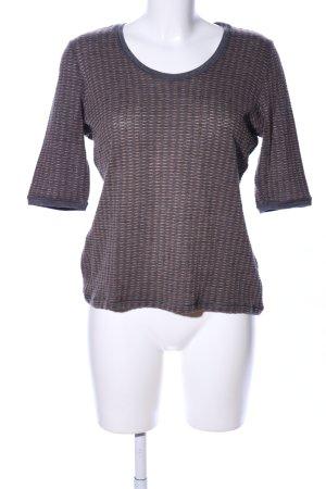 Armani Collezioni T-shirts en mailles tricotées brun-gris clair