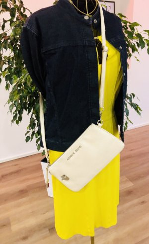 Armani Jeans Crossbody bag natural white